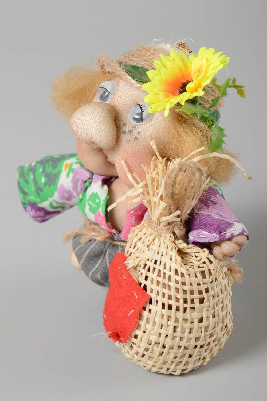 Stylish handmade soft toy interior decorating stuffed toy rag doll gift ideas photo 5