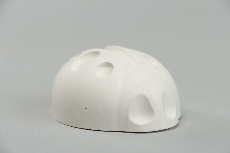 madeheart handgemachter rohling aus alabaster ohne lackierung und grundierung marienk fer. Black Bedroom Furniture Sets. Home Design Ideas