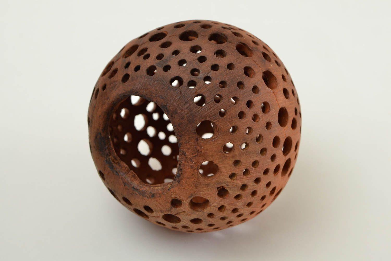 Photophore boule fait main Photophore ajouré en céramique Déco maison ronde 329637274 - BUY ...