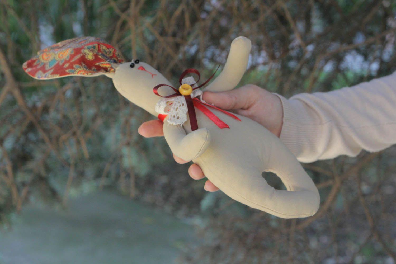 Interior textile toy Bunny photo 4