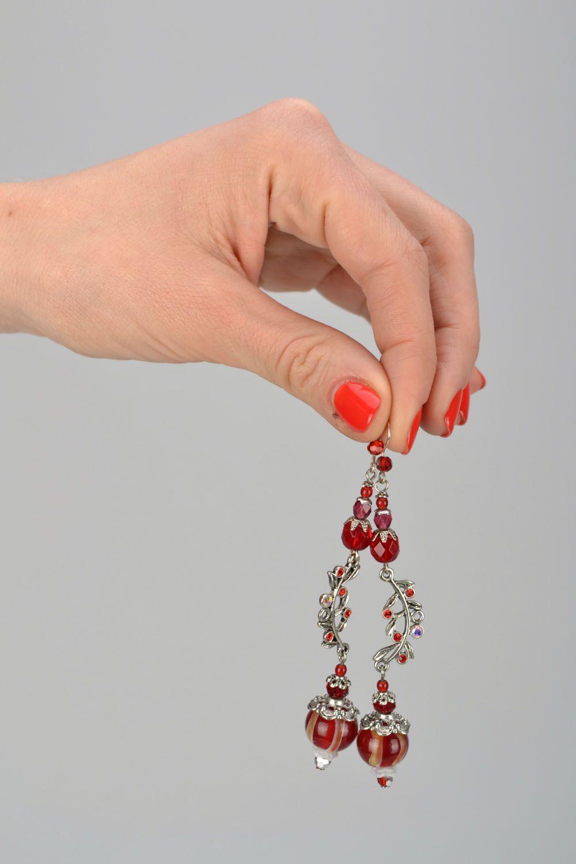 Handmade designer earrings photo 2