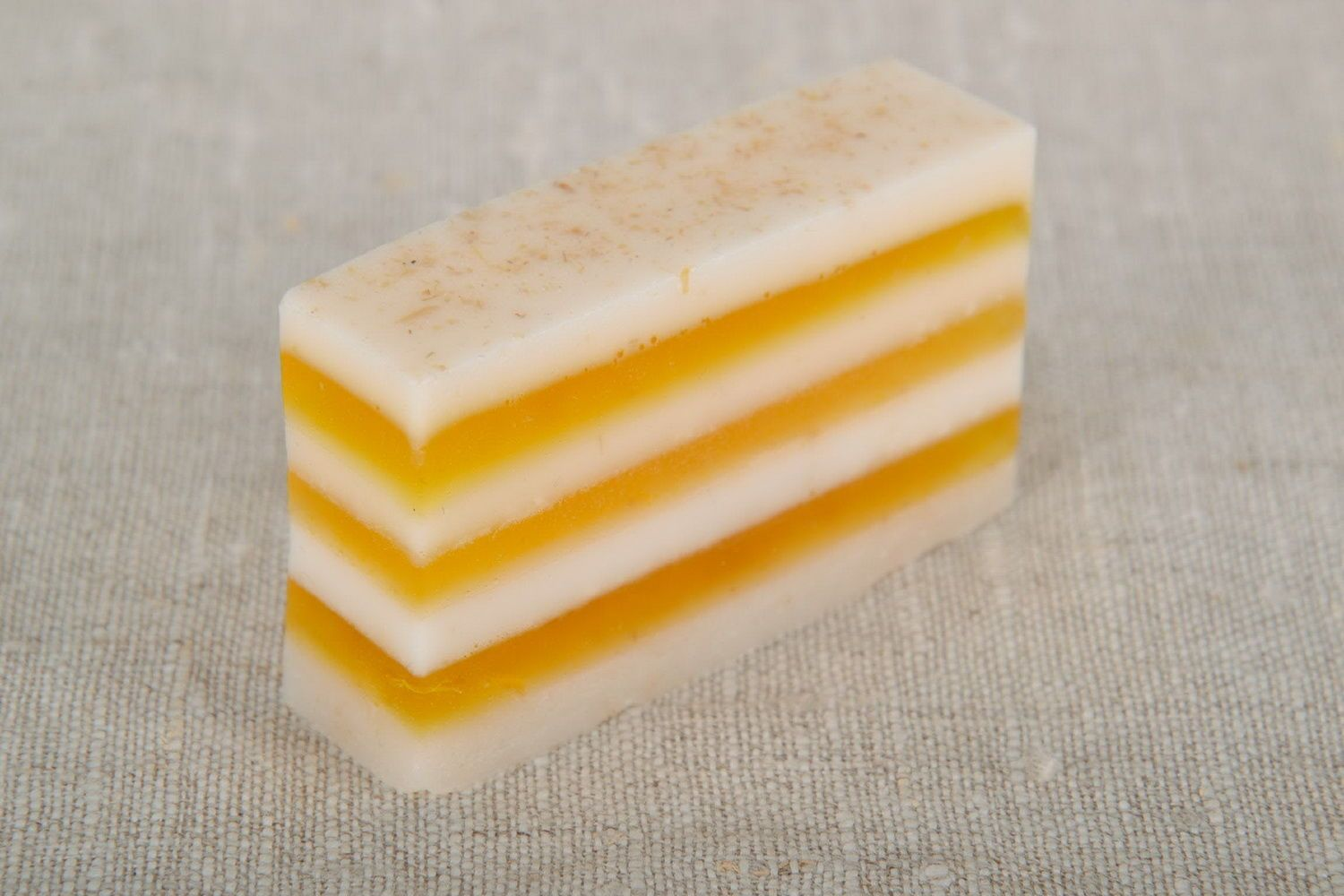 Loaf soap with seaberry oil photo 2