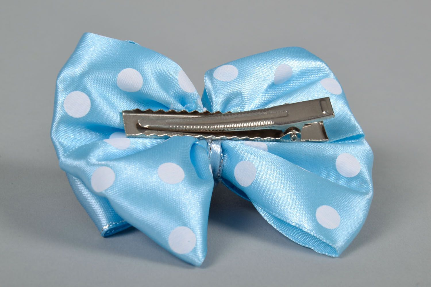 Bow hair clip photo 5