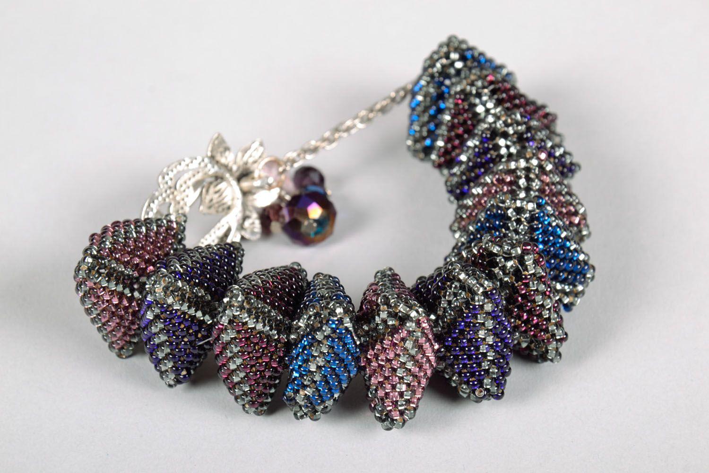 Unusual beaded bracelet photo 4