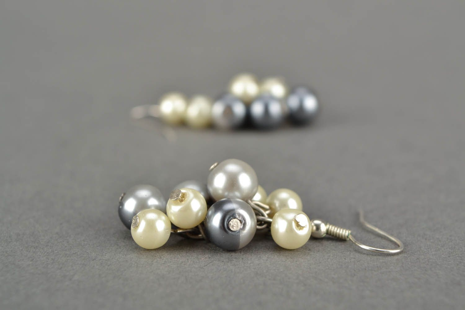 Earrings with charms  photo 5