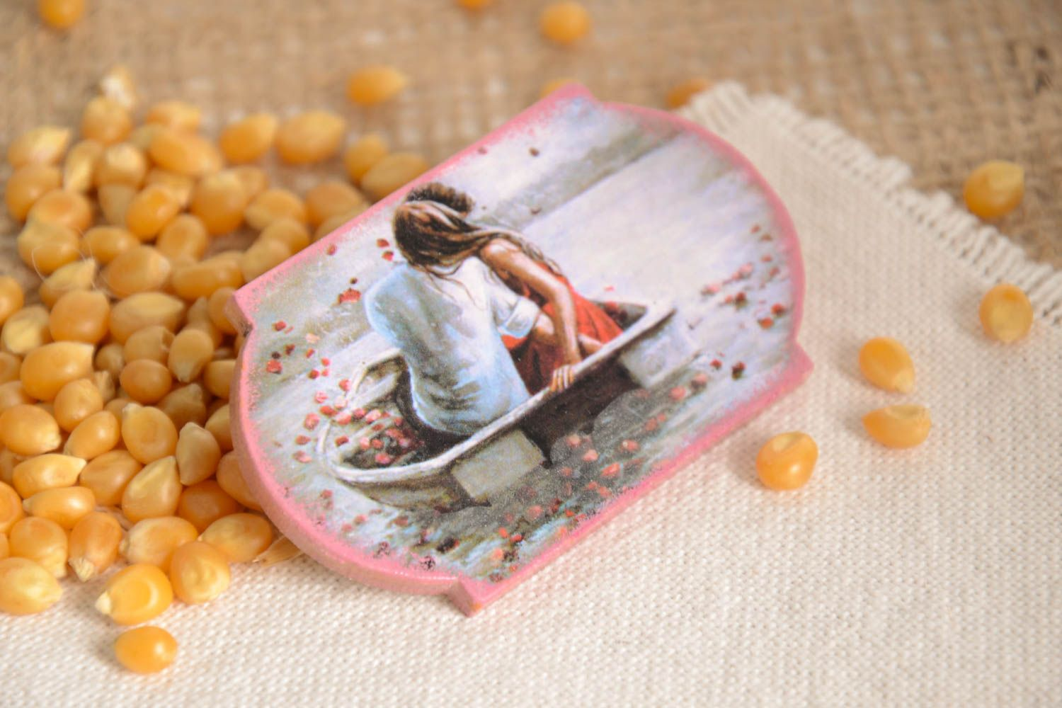 Cute handmade magnet kitchen supplies cool fridge magnets decorative use only photo 1