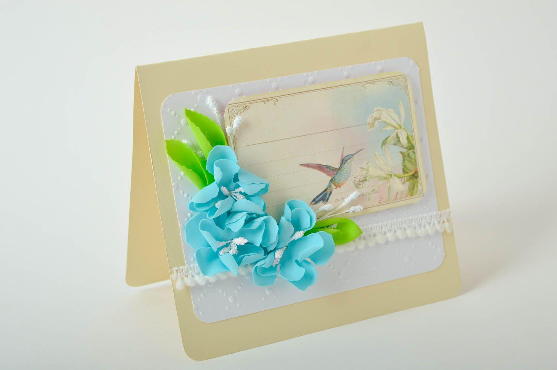 Handmade greeting card paper greeting card designer postcards souvenir ideas photo 2