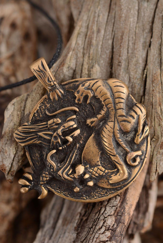 Bronze pendant Yin and Yang Tiger  photo 2