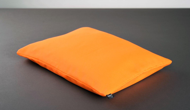 Yoga pillow with buckwheat husk photo 4