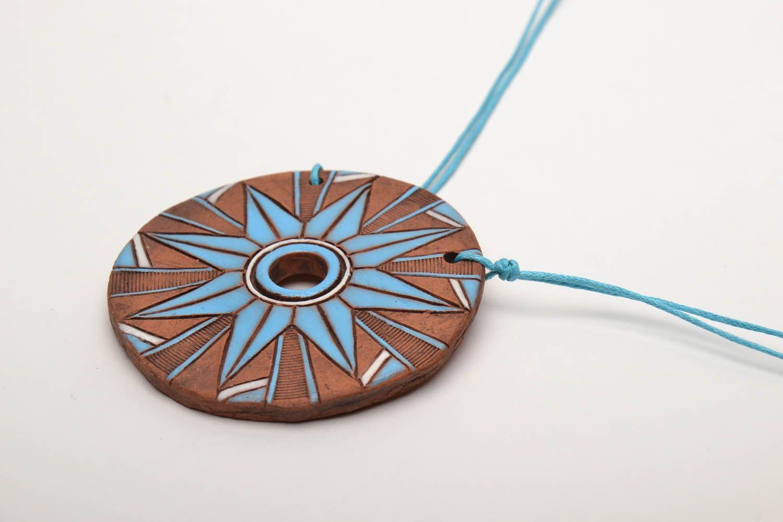 Ethno Keramik Anhänger foto 4