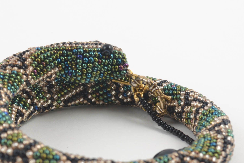 Браслет ручной работы браслет из бисера модная бижутерия браслет на руку фото 2