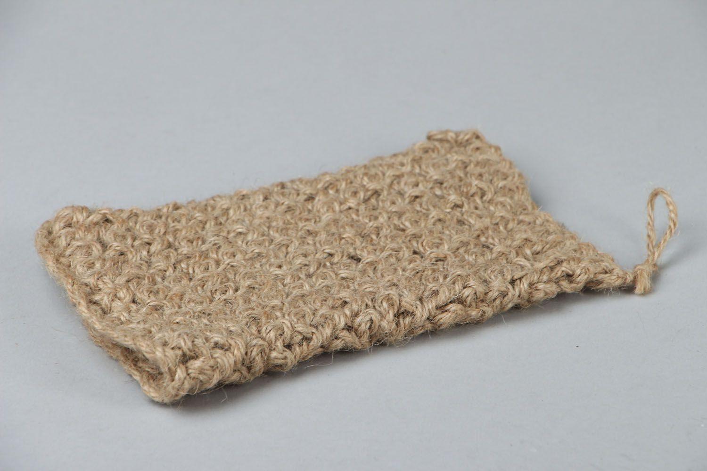 Hand crochet body scrubber  photo 2
