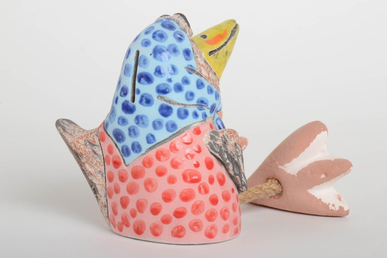 tirelires Tirelire oiseau fait main Accessoire design design original design Déco maison - MADEheart.com