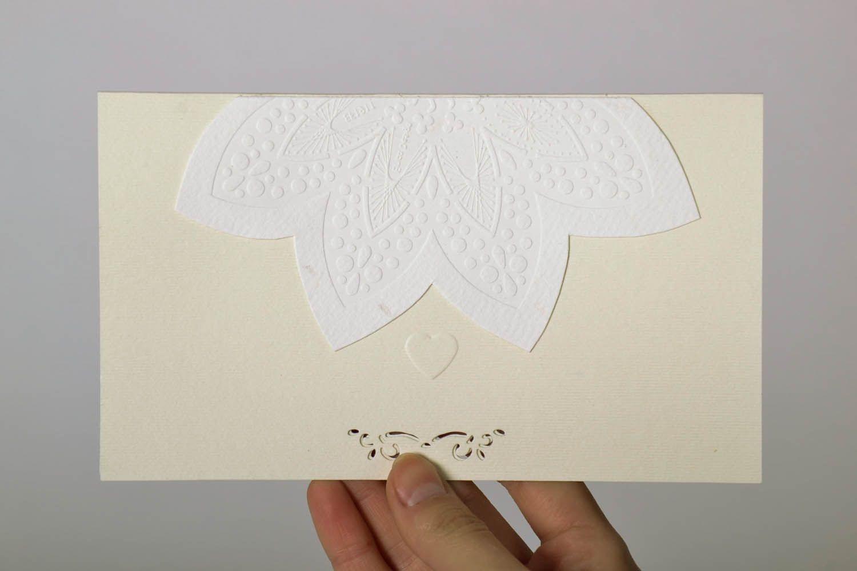 Wedding greeting card photo 4