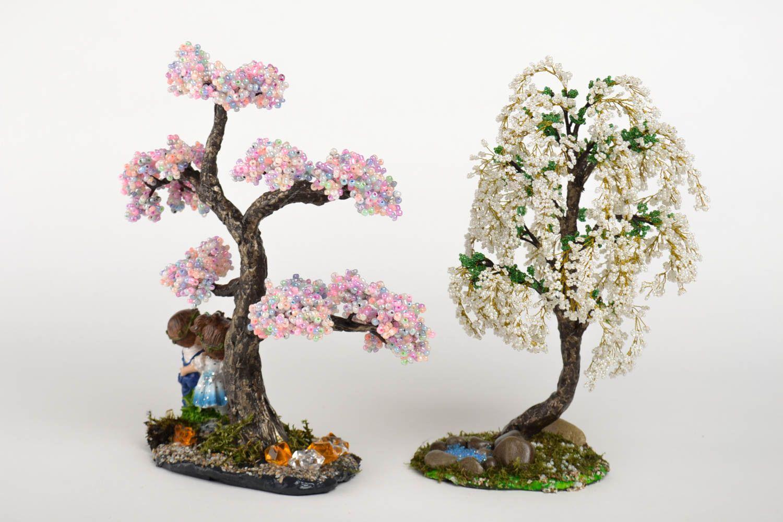 новые деревья из бисера картинки и фото кажется загадочным