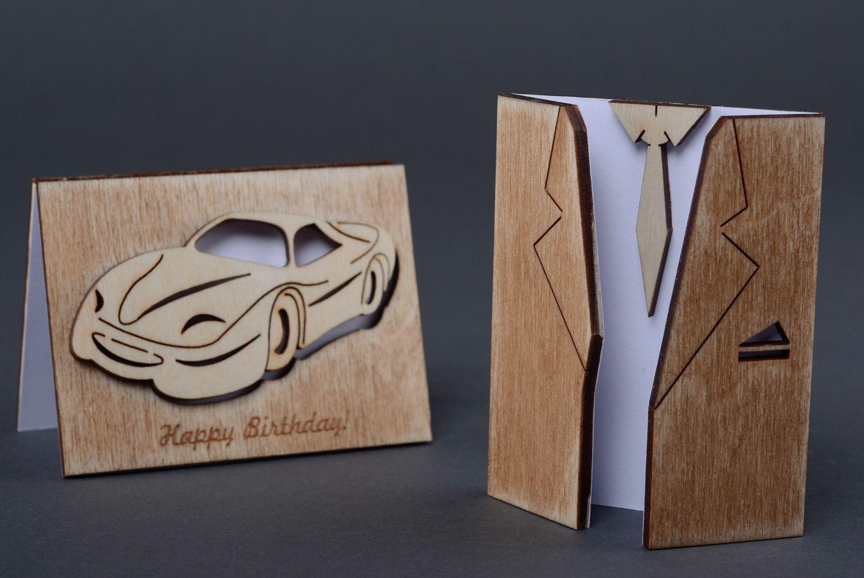 Мир, деревянная основа для открыток