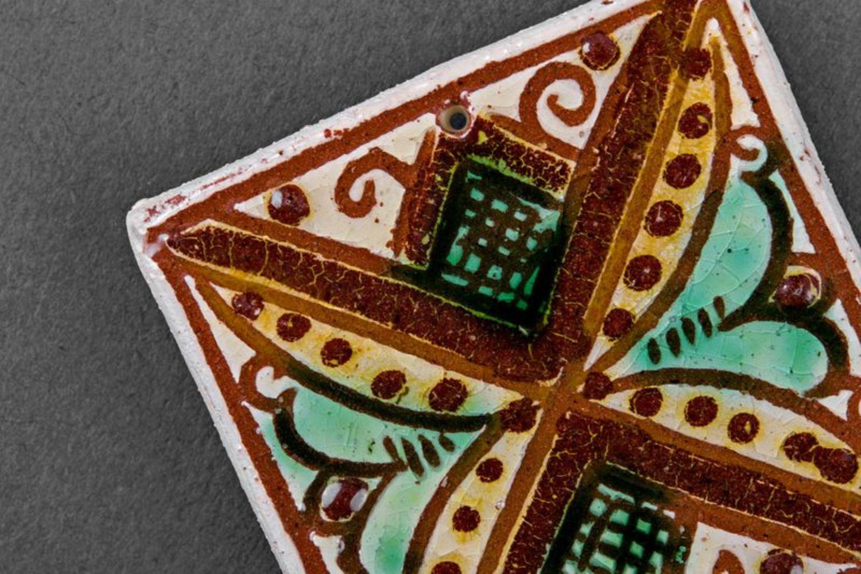 Ceramic handmade fridge magnet photo 5