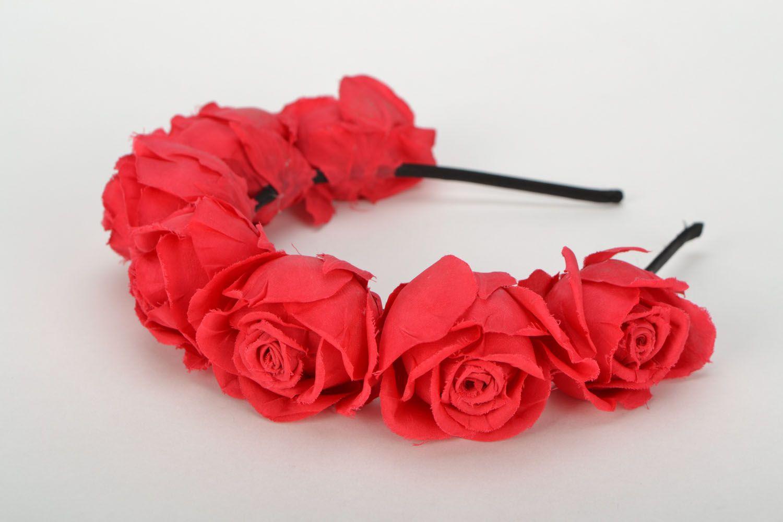 Headband Roses photo 1