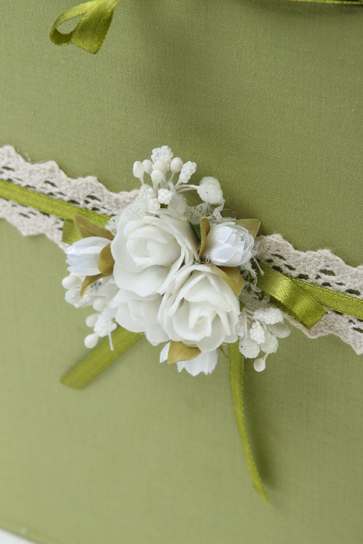 madeheart urne mariage fait main bo te mariage verte carton tissu accessoire mariage. Black Bedroom Furniture Sets. Home Design Ideas
