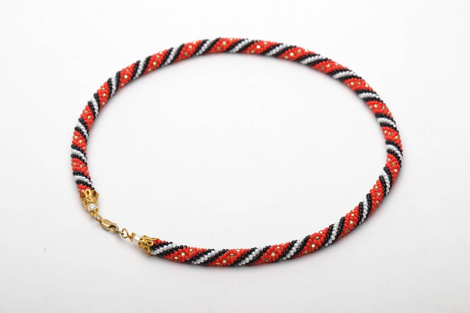 Beaded necklace in ethnic style photo 5