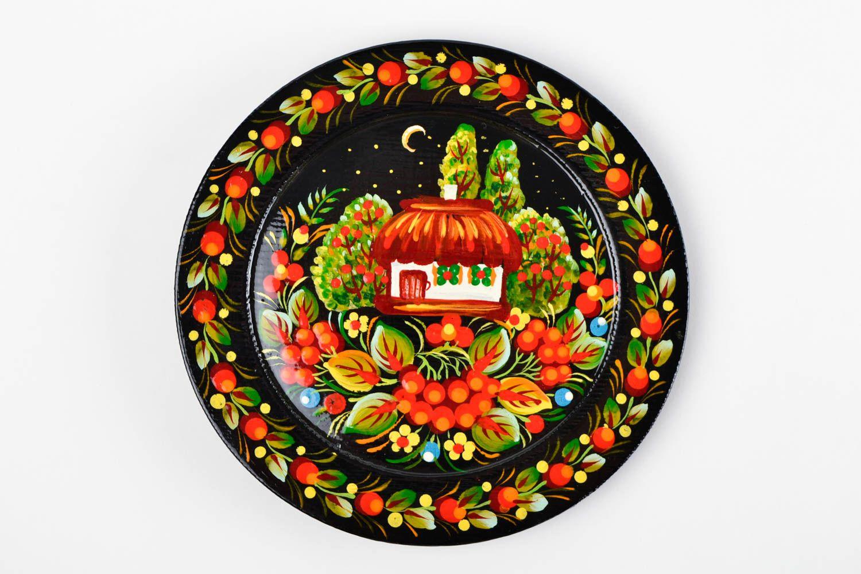 Madeheart assiette d corative d coration murale fait for Decoration murale ronde