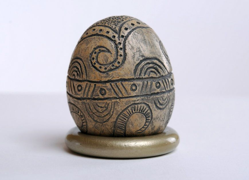 ceramic easter eggs Ceramic Pysanka - MADEheart.com