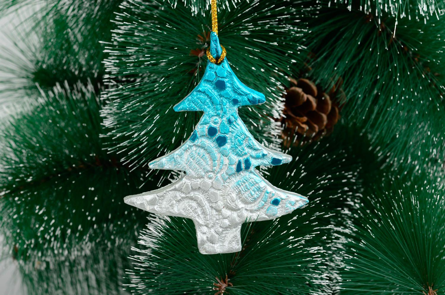 Ceramic Christmas Tree Decorations.Designer Christmas Tree Toys Ceramic Christmas Decor Holiday Idea Decor Use Only