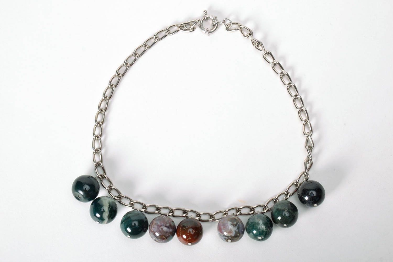Jasper necklace  photo 2