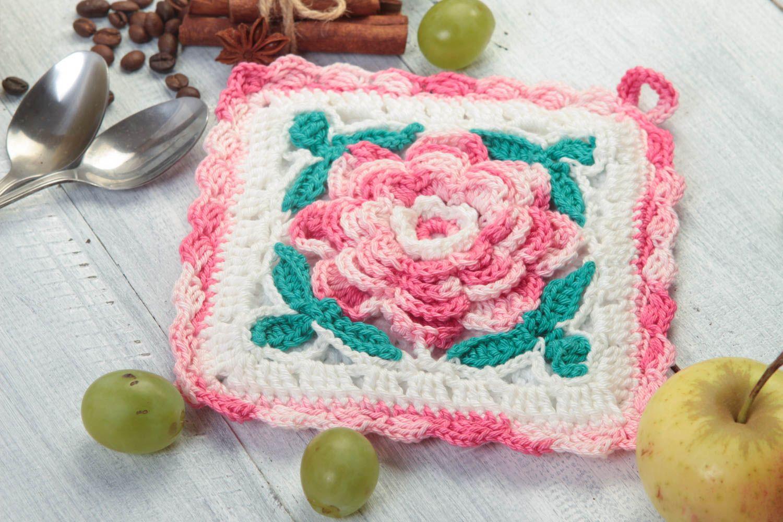 Madeheart > handmade topflappen gehäkelt küchen textilien ...