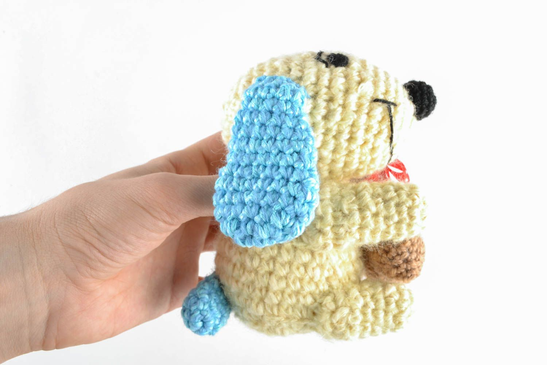 Амигуруми. Вязание крючком игрушки собачки в стиле амигуруми со схемами 69