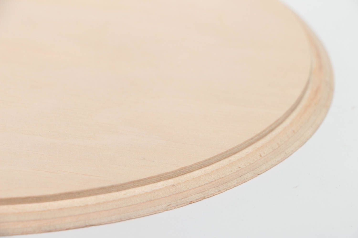 blanks for decorating Handmade simple large round plywood craft blank for decoupage wall panel  - MADEheart.com