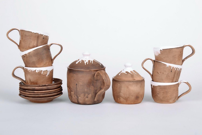 cups,glass Handmade tea-set - MADEheart.com