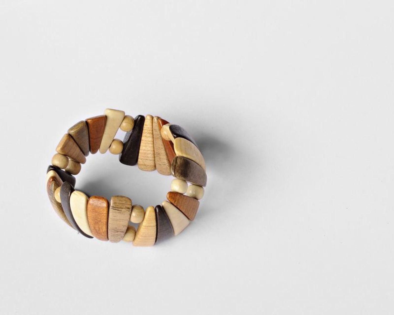 Wooden bracelet photo 6