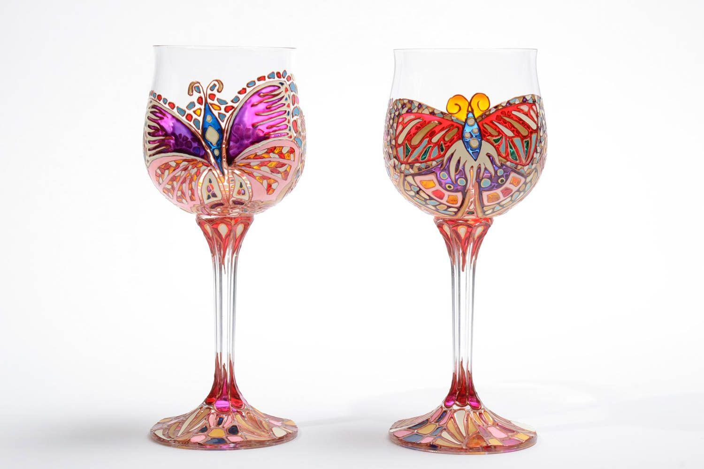 Kristallglas Weinglaser In Delilah Muster