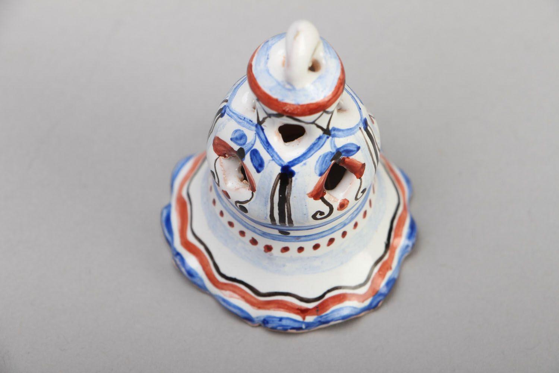 Unusual ceramic bell photo 2