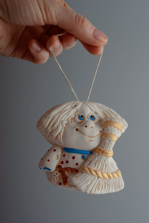 Designer ceramic bell Brownie photo 4