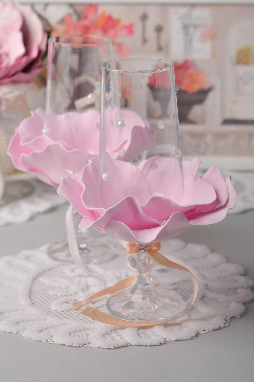 MADEHEART > Wedding glasses wedding accessories handmade wedding ...