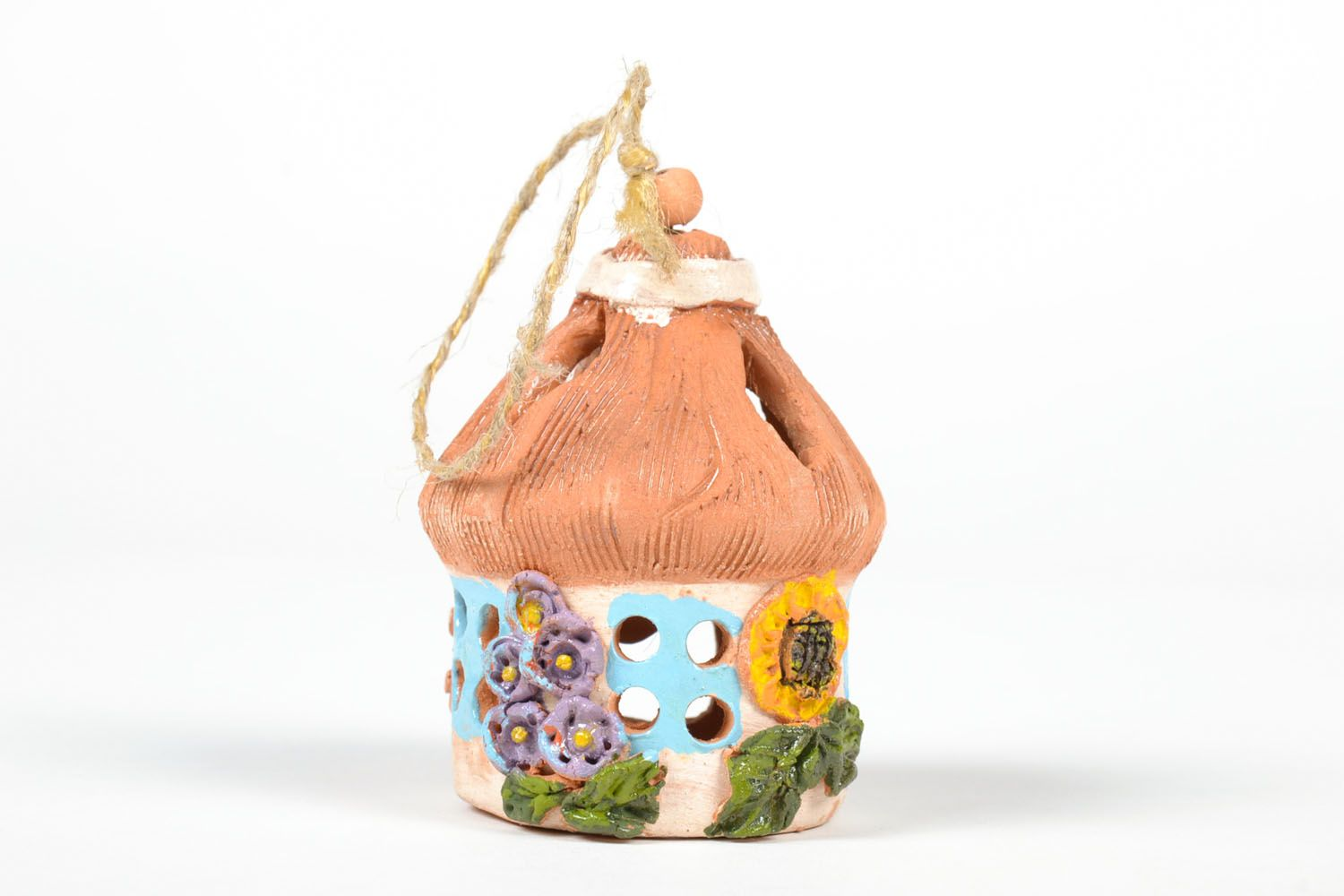 Ceramic painted bell photo 2