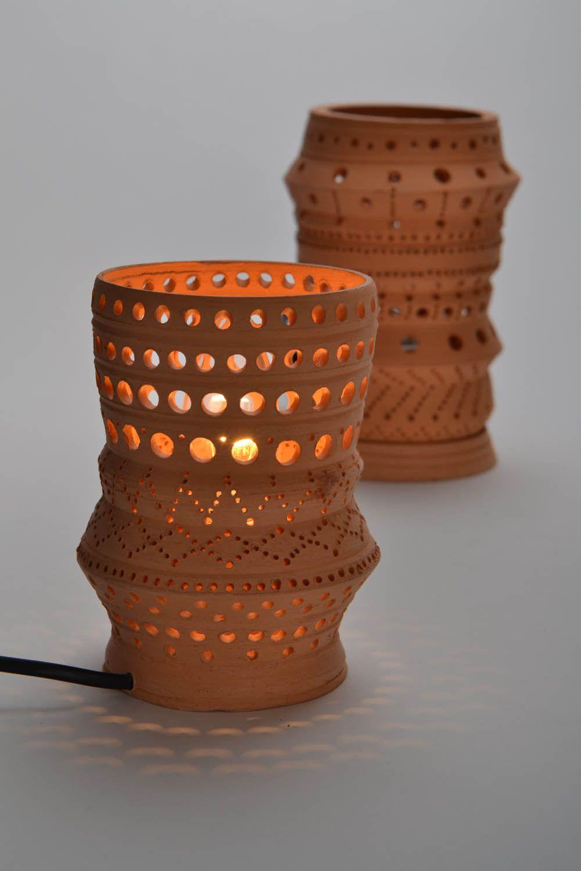 lighting Clay table lamp  - MADEheart.com