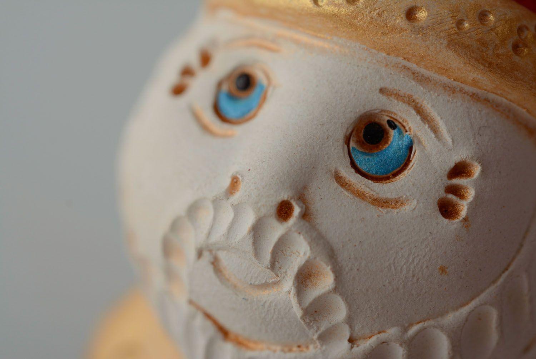 Homemade ceramic bell Kind Warrior photo 3