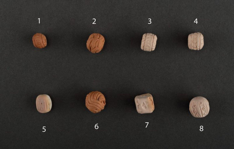 Clay beads photo 2