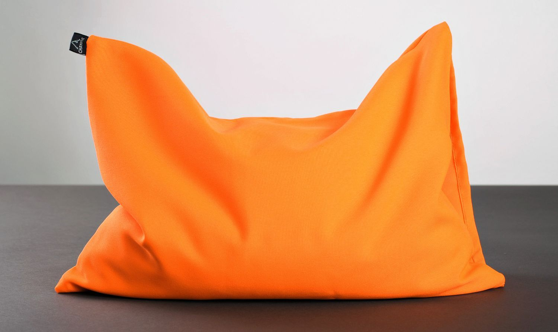 Yoga pillow with buckwheat husk photo 1