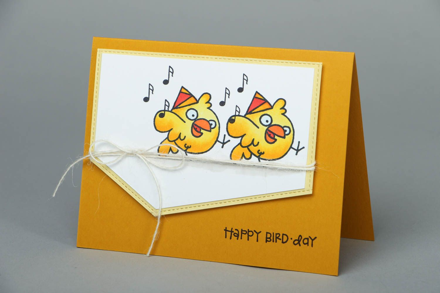 Beautiful happy birthday greeting card photo 1