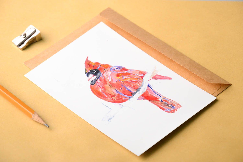 Handmade greeting cards unusual greeting card designer card handmade gift photo 1