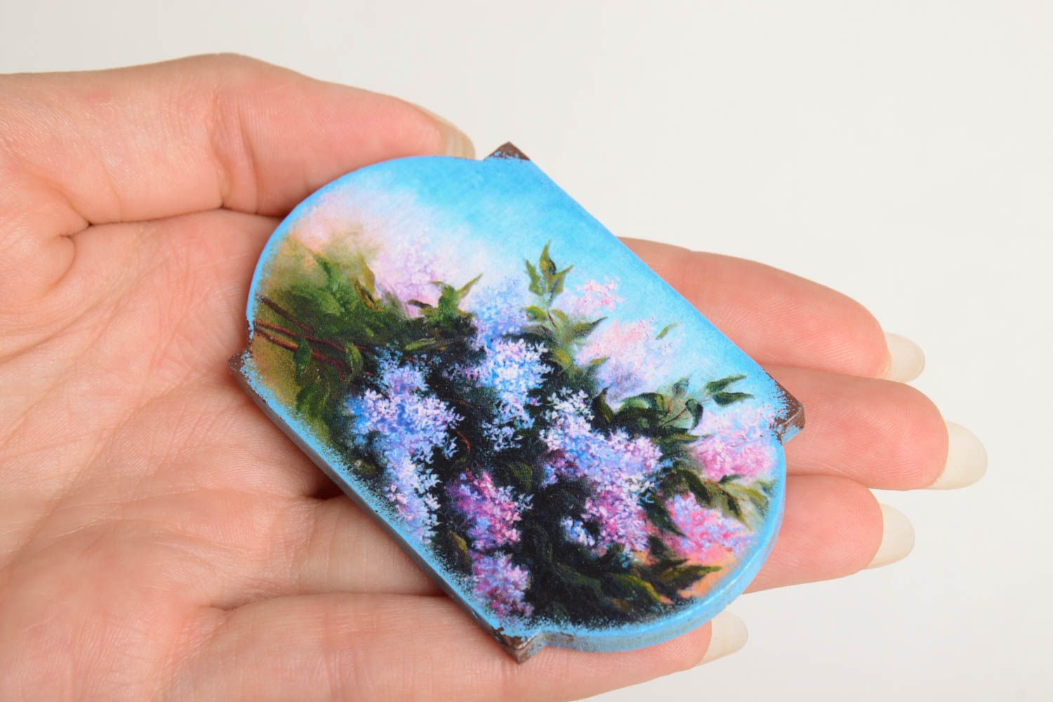 Unusual handmade fridge magnet kitchen supplies small gifts decorative use only photo 4