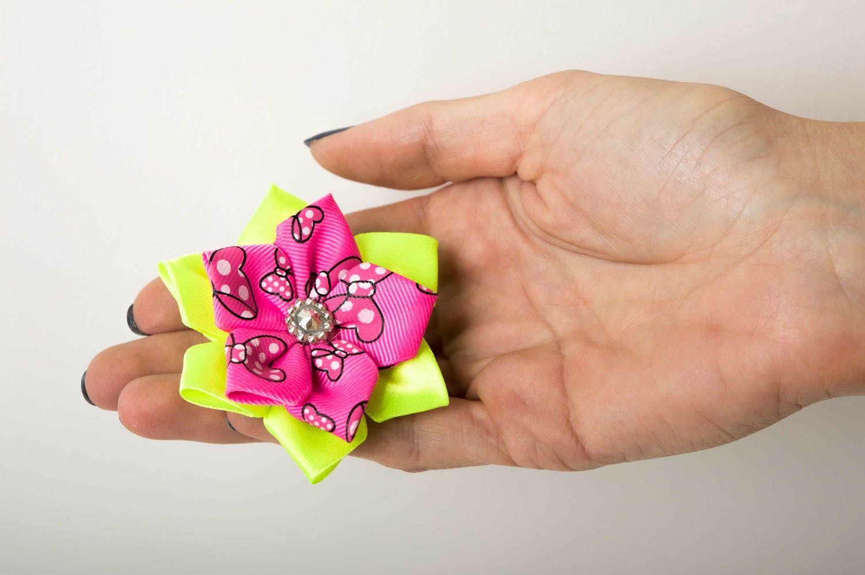 Необычный подарок ручной работы аксессуар для волос яркая резинка для волос фото 5