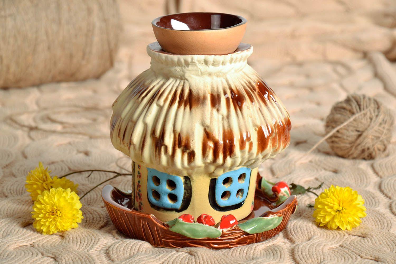 Clay oil lamp House photo 1