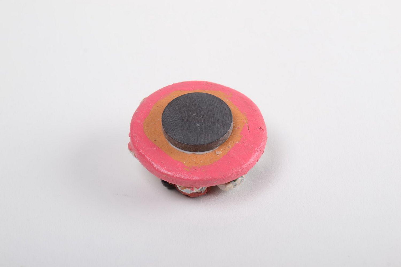 Unusual handmade cramic fridge magnet beautiful clay fridge magnet gift ideas photo 4