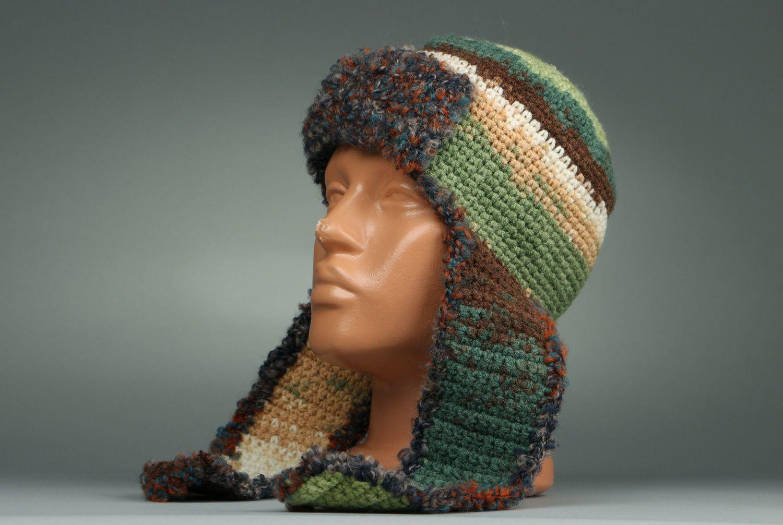 headwear Winter hat with ear-flaps - MADEheart.com