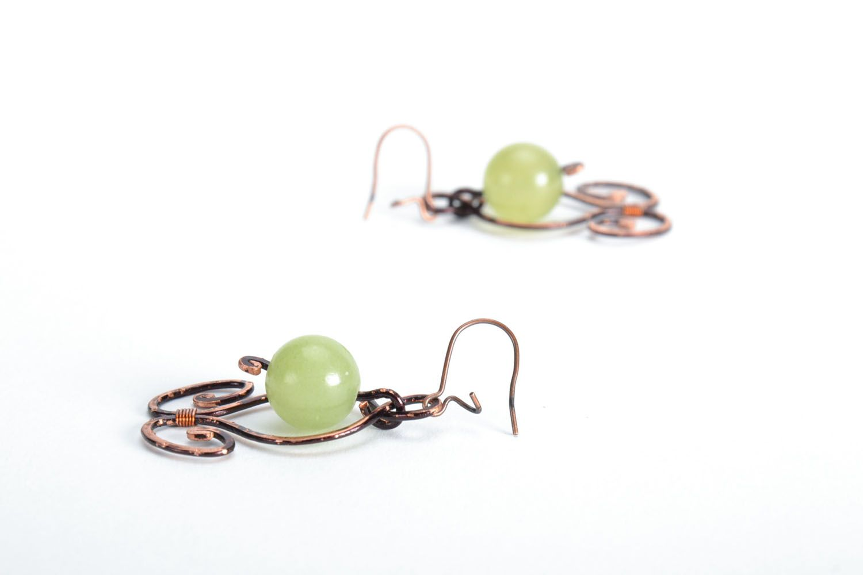 Elegant earrings with onyx photo 4
